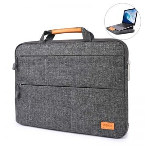 WIWU Smart Stand Sleeve Bag ForMacbook 15 Gray_1