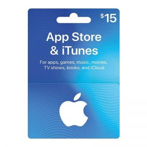 Apple iTunes Card 15$ (US)__alpha Store Kuwait