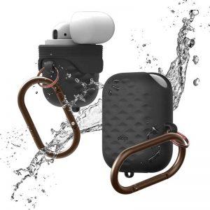 Elago AirPods Waterproof hang Active case Black_1_alpha store Kuwait