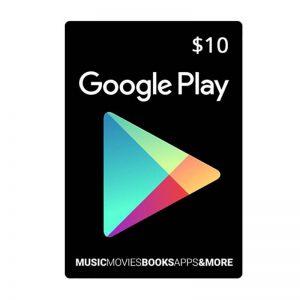 Google Play Gift Card $10_alpha Store Kuwait