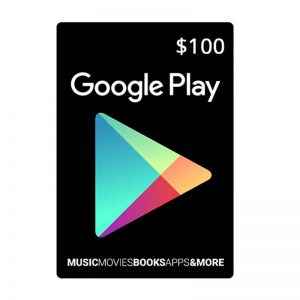 Google Play Gift Card $100_alpha Store Kuwait