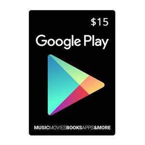Google Play Gift Card $15_alpha Store Kuwait