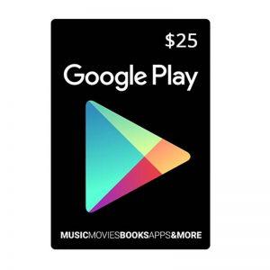 Google Play Gift Card $25_alpha Store Kuwait
