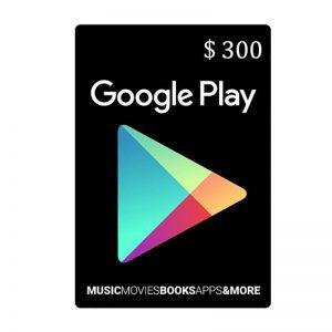 Google Play Gift Card $300_alpha Store Kuwait