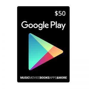 Google Play Gift Card $50_alpha Store Kuwait