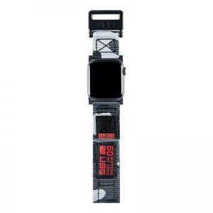 "UAG Apple Watch 44""/42"" Active Strap Midnight Camo"