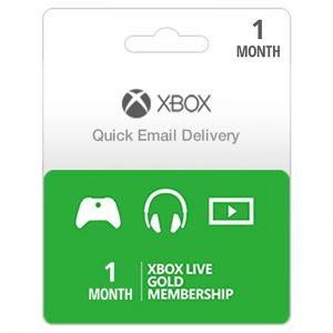Xbox Live Gold 1 Month Subscription __alpha Store Kuwait