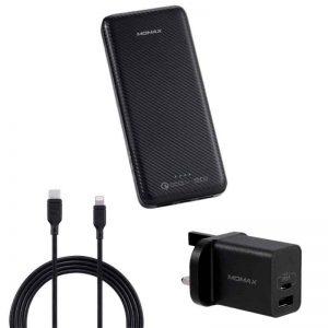 Momax Ready to Go iPower Minimal PD5 20000mAh - Black