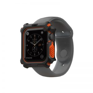 UAG Apple Watch 44mm Case - Black/Orange