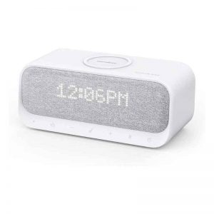 Anker Sound Core Wakey Bedside Speaker - White_alpha store Online Shopping in kuwait