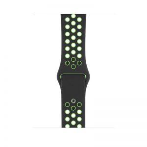 44mm Nike Sport Loop, Color- Black Lime Blast -Regular_alphastore_kuwait