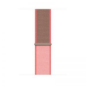 44mm Sport Loop, Color- Neon Pink_alphastore_kuwait