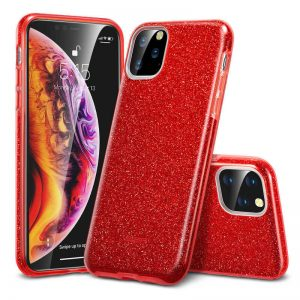 ESR - iPhone 11 Pro Max -Makeup Glitter-Red Case
