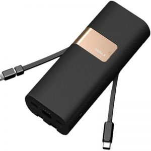 IWALK SECRETARY+ 20000 MAH BUILT IN CABLES - BLACK