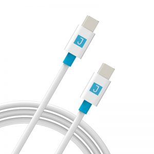 JUKU USB-C TO USB-C CABLE 2M - WHITE