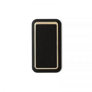 Handl Stick Smooth leather - Black Gold