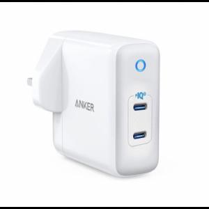 Anker PowerPort III Duo -White (18W + 18W) 36W PIQ3.0