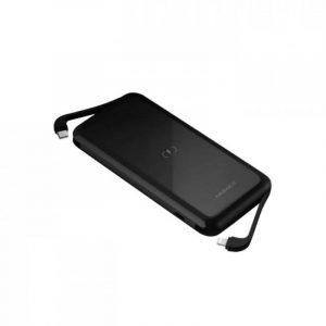 Momax Q.Power One Dual Wireless External Battery Pack 10000mAh 20W-Black