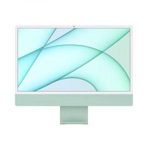 24 inch iMac 4.5K M1 8C CPU 7C GPU 256GB SSD Green_alphastore kuwait apple