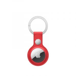 AirTag Leather Key Ring (PRODUCT)RED-kuwait