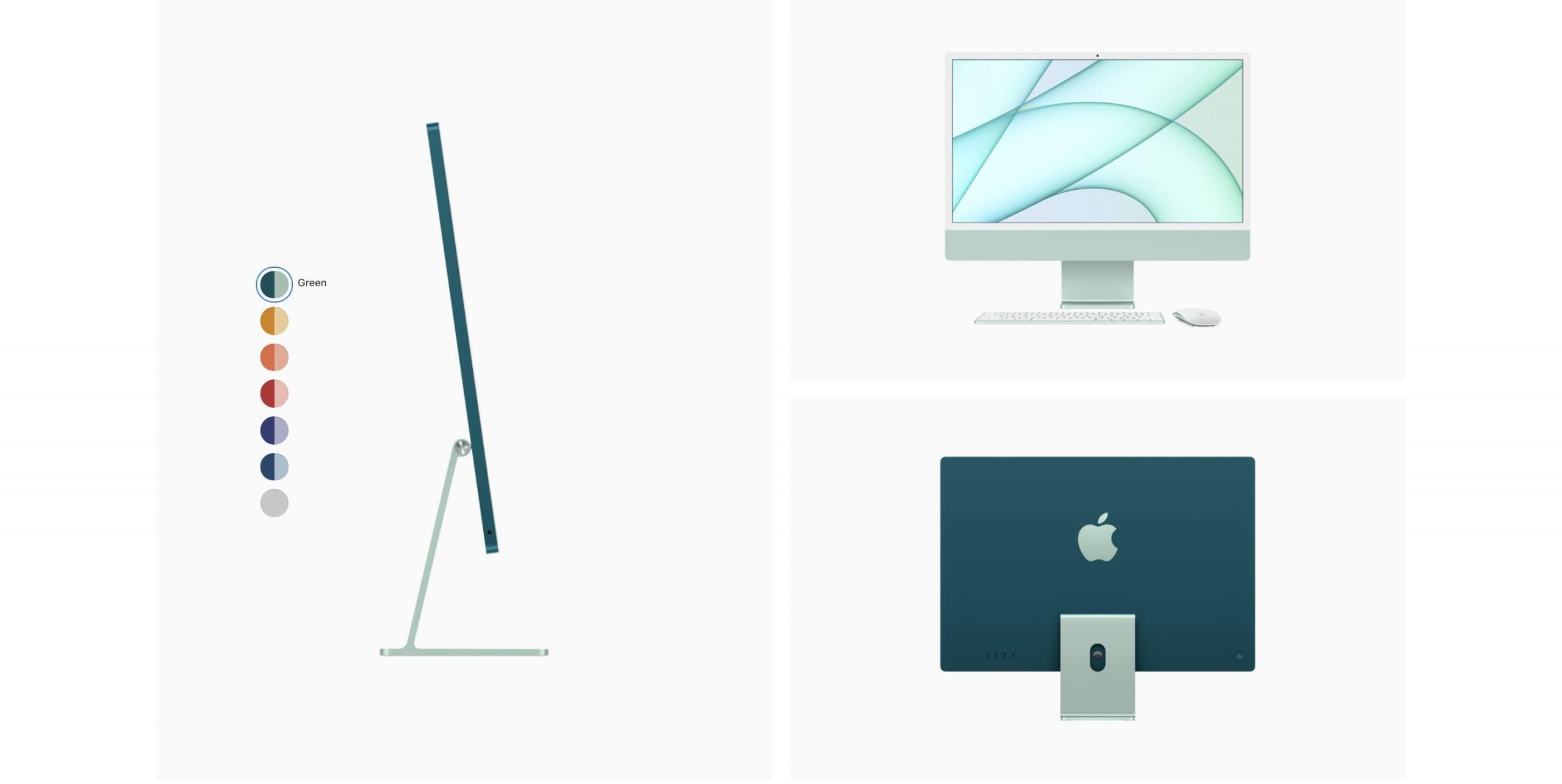 Apple 24 inch iMac 4.5K M18C CPU 7C GPU:8C GPU 256GB SSD_alphastore kuwait_3