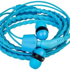 WRAPS CLASSIC EARPHONES MIC BLUE TALK LAGOON.CODE