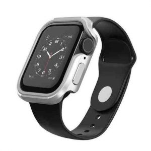 Wiwu Defense Armor Series Case For Apple Watch Series Se / 6 / 5 / 4 - 44mm -Silver