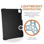 UAG iPad Pro 12.9_ 5th Gen 2021 Metropolis Case (Black)_5
