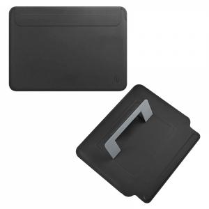 Wiwu Skin Pro Slim Stand Sleeve For Macbook Pro 16 - Black