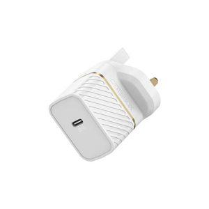OtterBox UK Wall Charger 30W GaN - 1X USB-C 30W USB-PD (White)