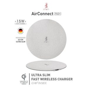 Smart AirConnect PAD + 15W Fast Charger Round