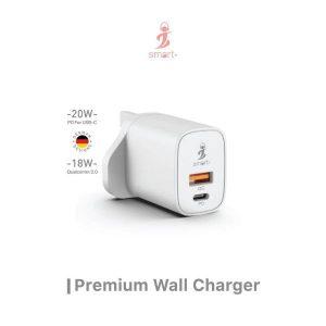 Smart Airconnect Wall Adaptor 20W PD & 18W QC