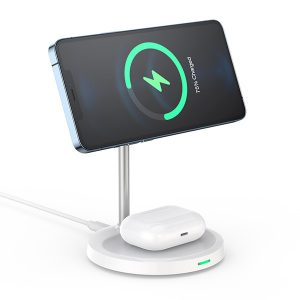 Choetech 2 in 1 Magleap Charger - Grey