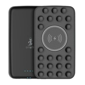 Smart AirConnect iMate Fast charge + Premium Suction Power bank 5000 Mah