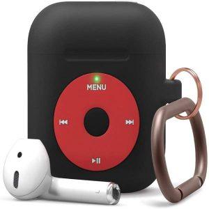 Elago AirPods 1&2 AW6 Hang Case (iPod)-Black