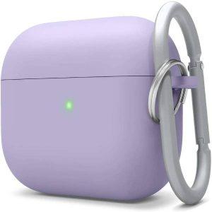 Elago AirPods Pro Liquid Hybrid Case with Keychain- Lavender