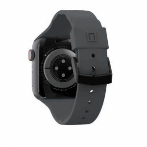 [U] by UAG Apple Watch 44/42 Aurora Strap (Black)