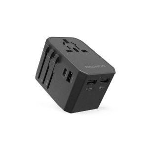 DAEWOO Travel Adaptor,45W PD, Universal Plug