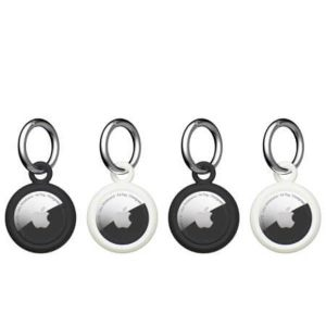 [U] by UAG Apple AirTags Dot Keychain - 4 pack