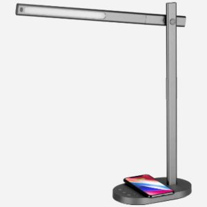 Momax Q.LED Desk lamp & wireless charger 10W Grey