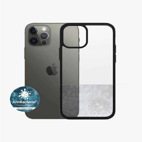 Panzer Glass Clear Case iPhone 12/12 Pro Black