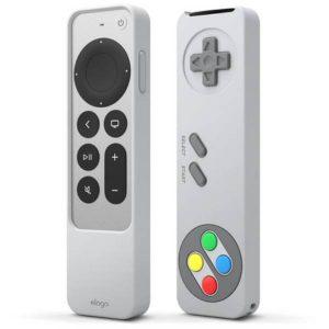 Elago Apple TV Siri Remote R4 2021 Case Light Gray