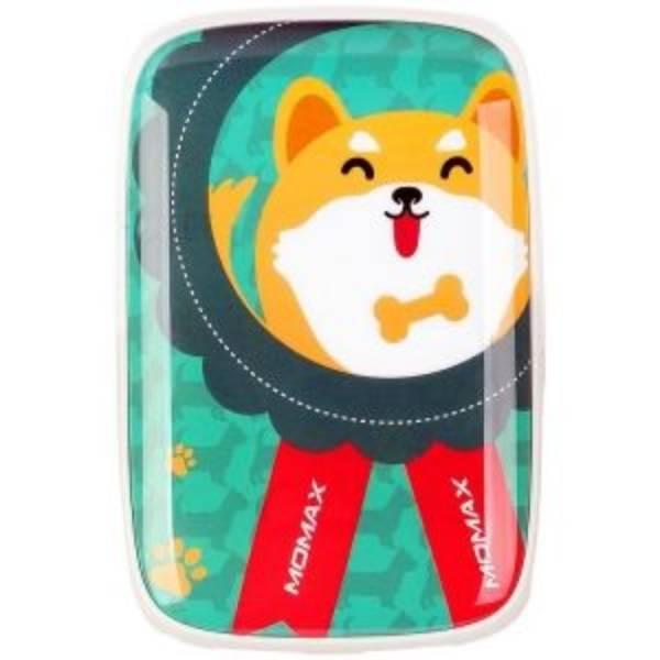 MOMAX iPower Art DUAL USB Battery 9000m- Akita dog