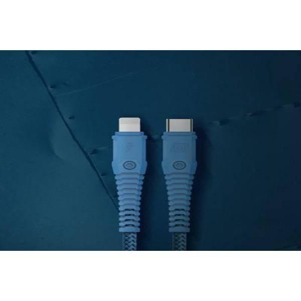 Momax Tough-Link Lightning to Type-C 1.2M - Blue